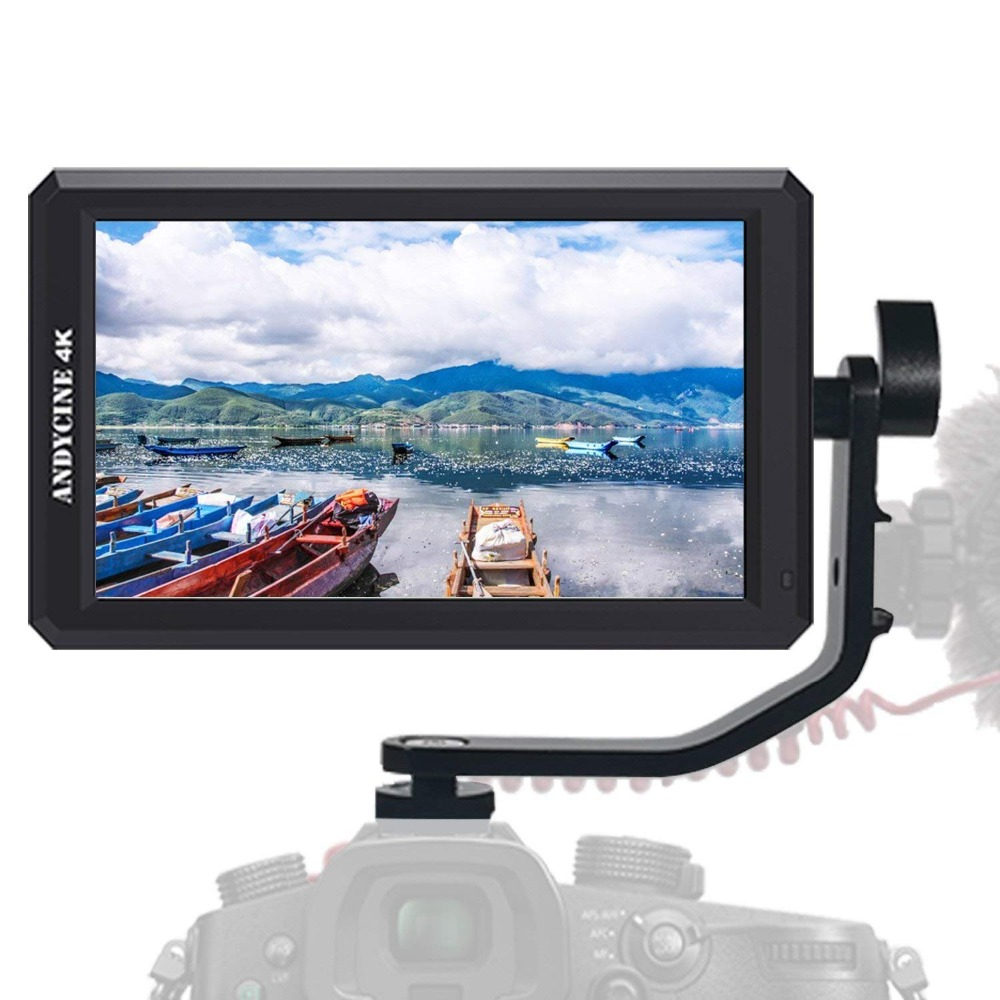ANDYCINE A6 5.7 Inch HDMI Field Monitor 1920x1080 DC 8V Power Output Swivel Arm for Sony,Nikon,Canon DSLR and GimbalsANDYCINE A6 5.7 Inch HDMI Field Monitor 1920x1080 DC 8V Power Output Swivel Arm for Sony,Nikon,Canon DSLR and Gimbals