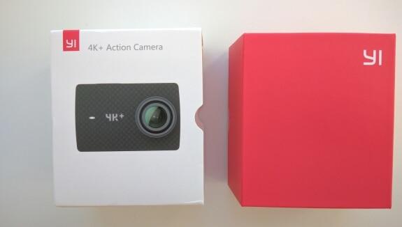 "YI 4K+(Plus) Action Camera International Edition FIRST 4K/60fps Amba H2 SOC Cortex-A53 IMX377 12MP CMOS 2.2""LDC RAM EIS WIFI"