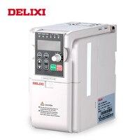 DELIXI 0.75KW 3 фазы Частота входного сигнала поворотные приводы с частотно регулируемым приводом для мотора Скорость Управление регулируемым пр
