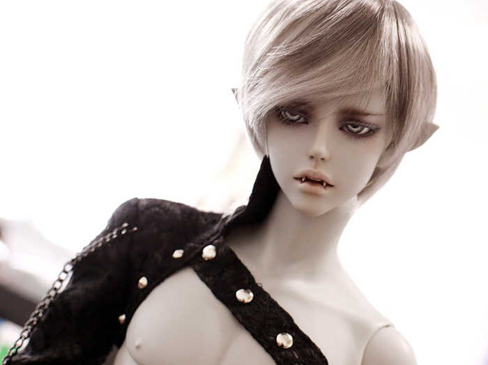HeHeBJD 1/3 fantasy doll Heliot vampire version resin figures art bjd High Quality toys