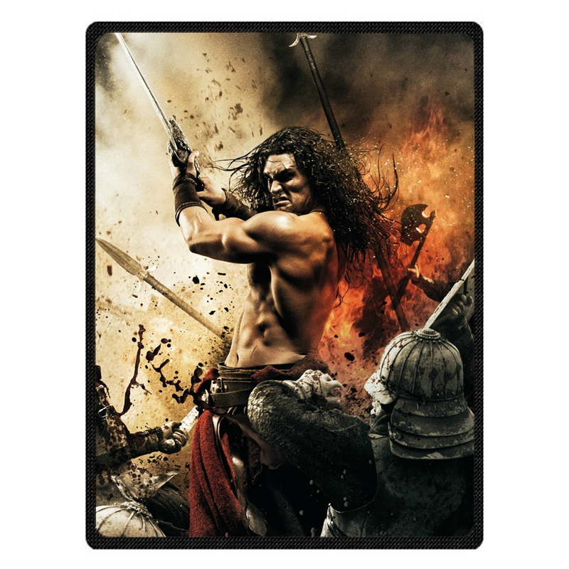 Jason Momoa Throw Blankets Customized Blanket Manta Coral Flannel Blanket Sofa/Couch Bed/Plane Travel Foot Coverlet