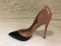 CRA BRANDD Sexy women thin high heels patent women pumps party shoes 8cm 10cm 12cm heels high women sexy fashion sheos