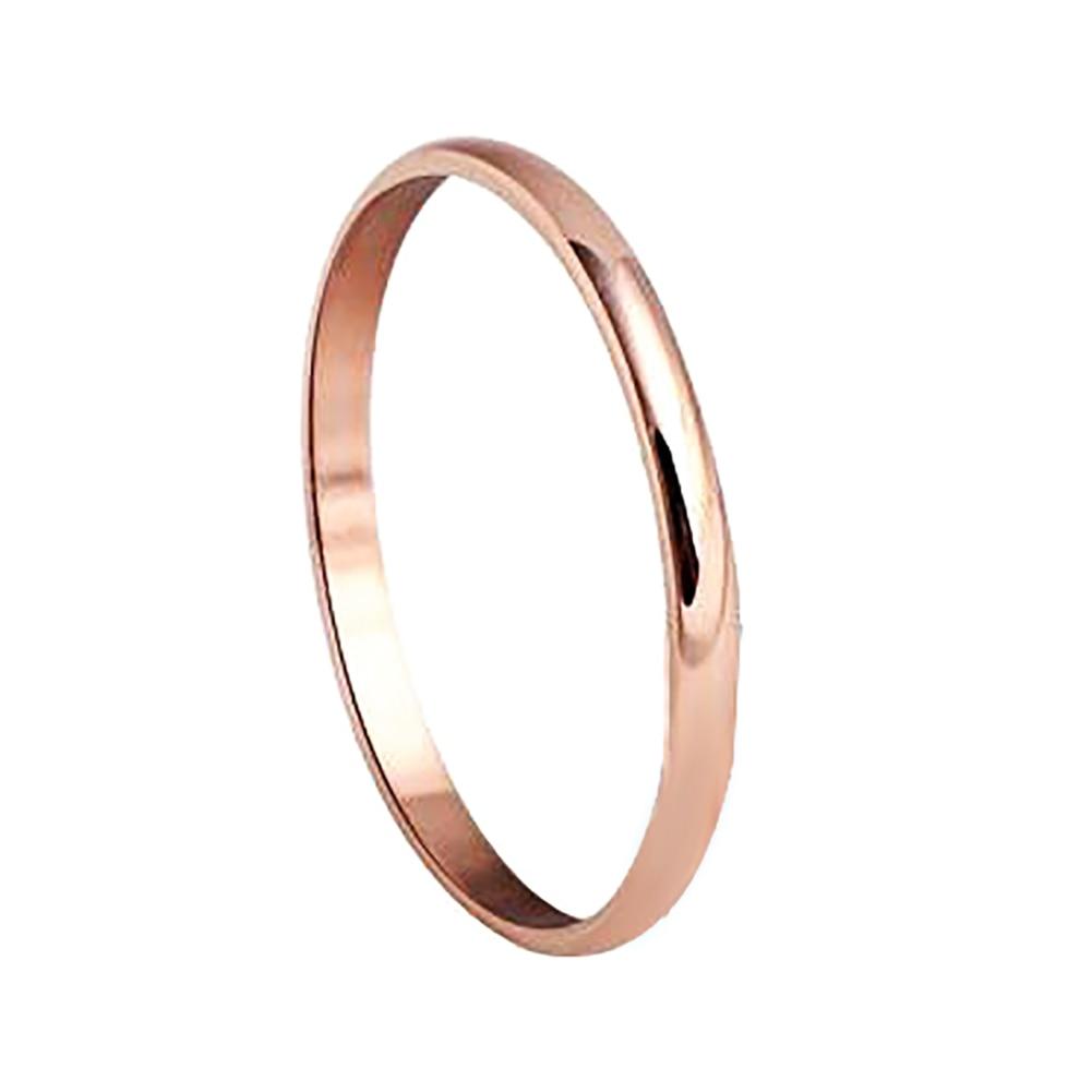 Модное женское и мужское обручальное кольцо из титановой стали