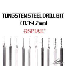 DSPIAE DB-01 Model Tungsten Steel Drill Bit 0.3-1.2MM Craft Tools fine Accessory