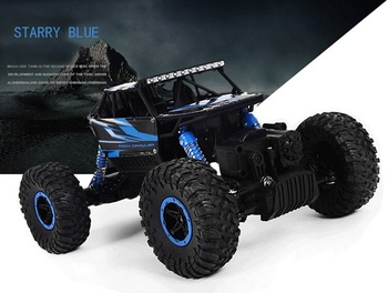 HB P1803 2.4GHz 1:18 4WD Electric RC Car Rock Crawler Remote Control Toy Cars 4 Channels with Transmitter MODE2 for boy children