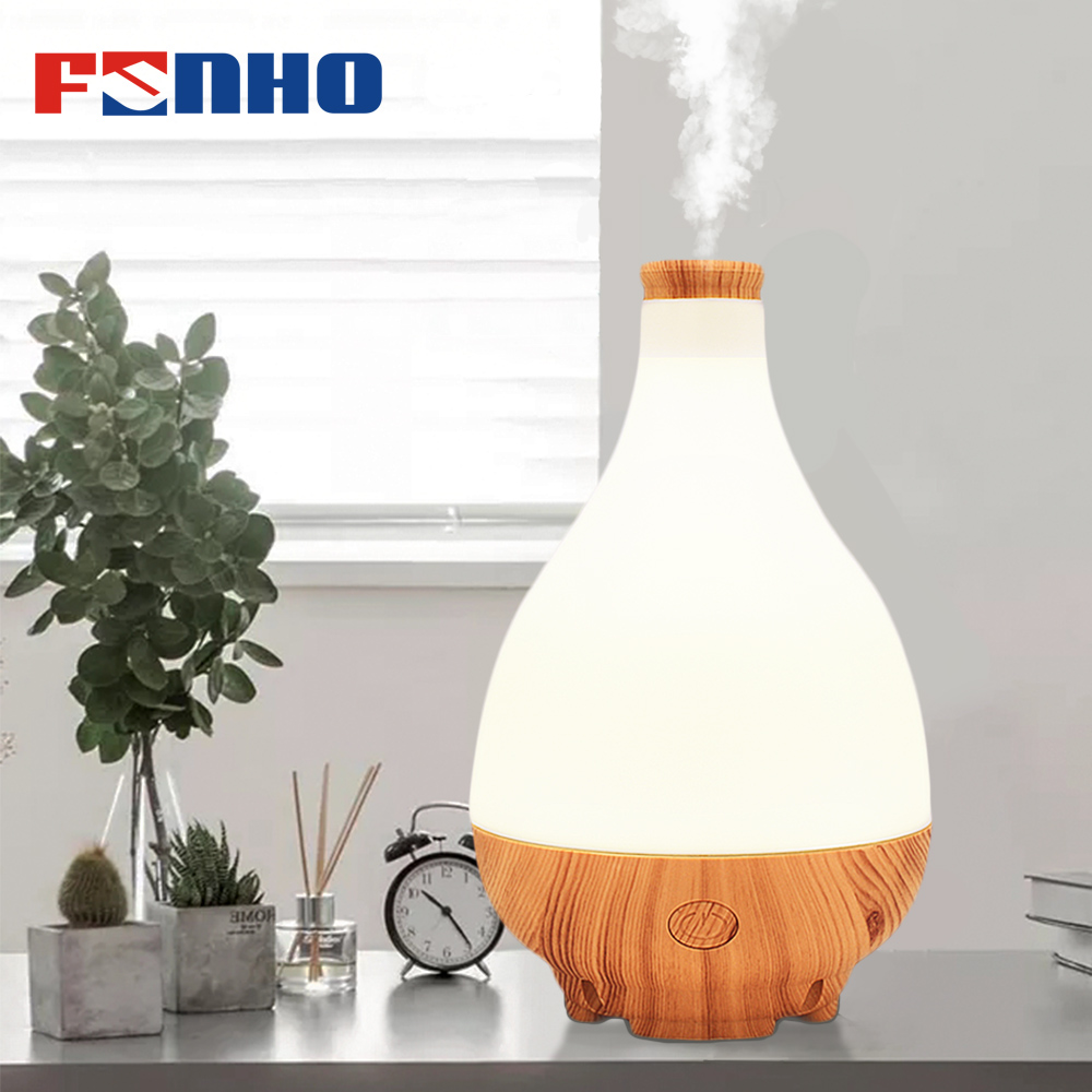Funho Diffuser 300ML Electric Aroma Diffuser Aromatherapy Essential Oil Diffuser Humidifier Ultrasonic Mist Maker For Home 300ml ultrasonic mini usb air humidifier essential oil diffuser office desktop home mist maker aroma essential oil diffuser