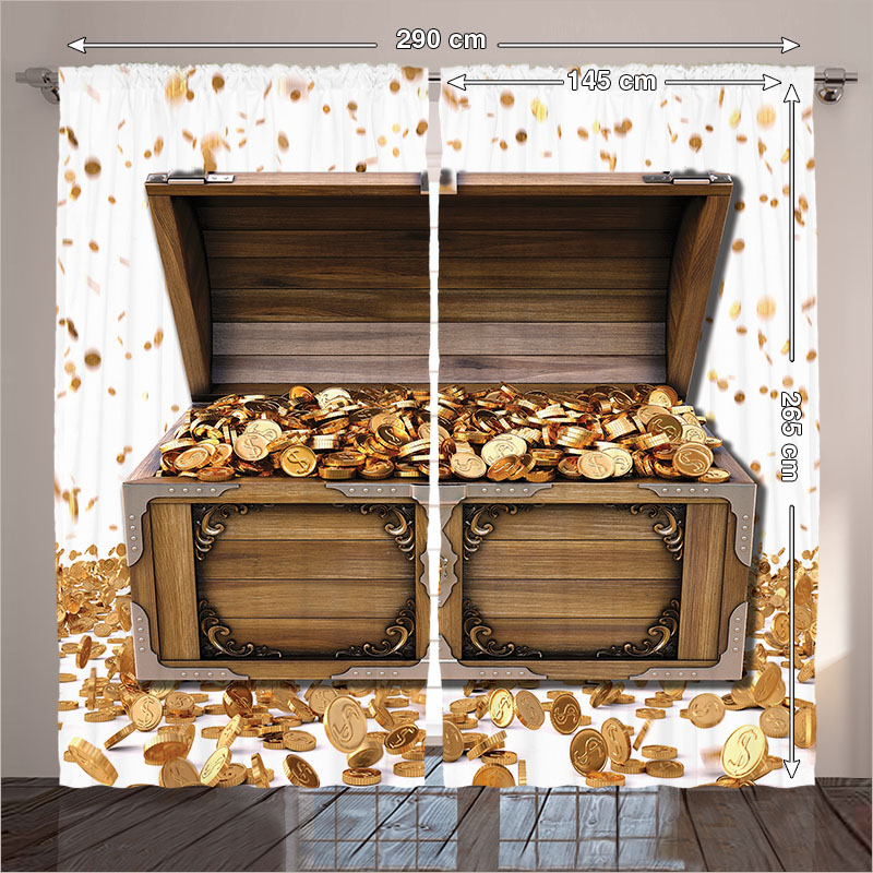 Background Treasure Beach Seaside Children Party Backdrop Fund Photo Booth For The Wooden Box Decor White 290x265 Cm Home In Curtains From