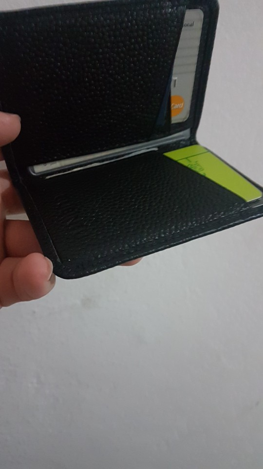 Porte Carte Cardholder Door For ID Bank Credit Business Card Holder RFID Men Wallet Purse Case Male Genuine Leather Bag Kashelek photo review
