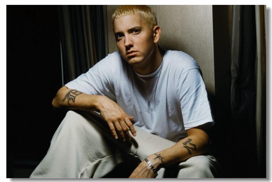 Tatuajes Eminem Affordable Eminem Se A Echo Infinidad De Tatuajes