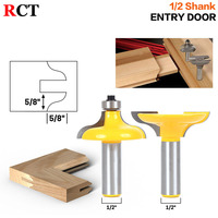 2 PC 1 2 Shank Entry Door For Long Tenons Router Bit Woodworking Cutter Woodworking Bits