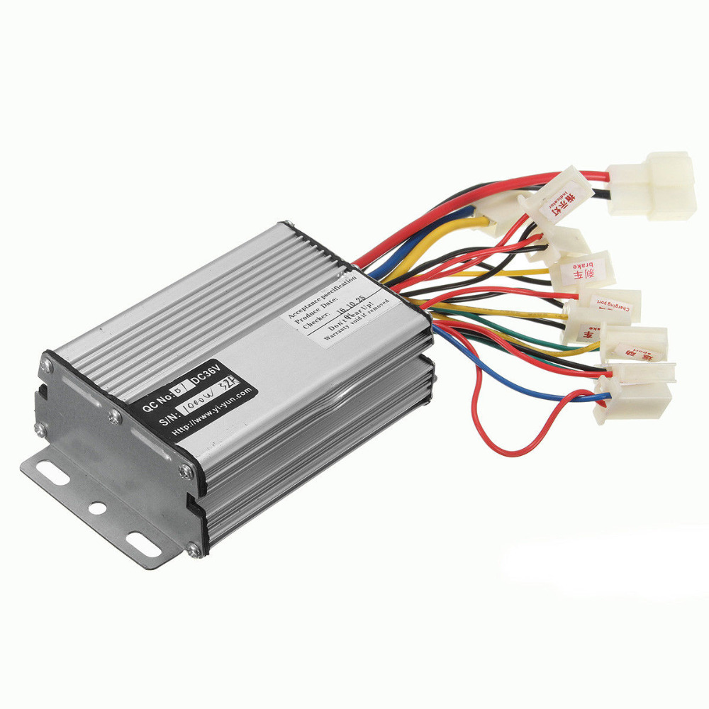 <font><b>36V</b></font>/48V 500W/800W/1000W Electric Scooter <font><b>Motor</b></font> <font><b>Brush</b></font> Speed Controller For Vehicle Bicycle Bike image