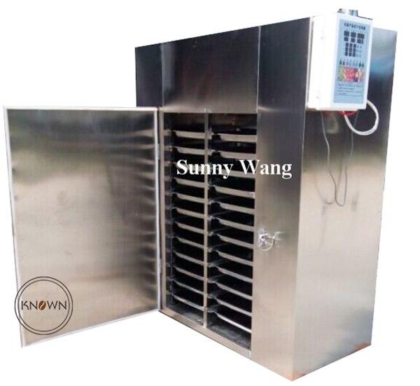 Оборудование сушильщика еды моря машины сушильщика фруктов экономии энергии коммерчески для 104192, 48,96, 12,24 слоев