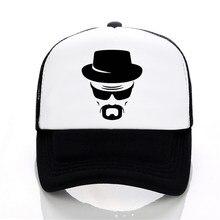 1f79f08c7227a heisenberg Baseball caps funny men hat Summer leisure snapback hats women  fashion Mesh trucker cap(