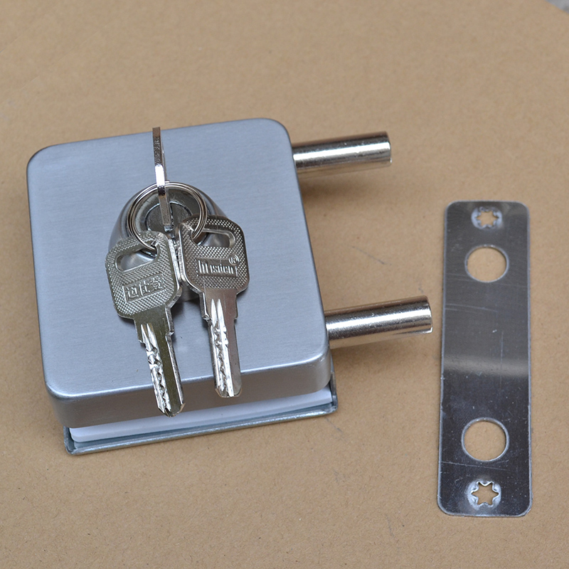 free shipping glass door lock security lock House Ornamentation Door Hardware Hypostyle stainless steel lock bolt Engineering free shipping glass door lock security lock house ornamentation door hardware lock stainless steel lock