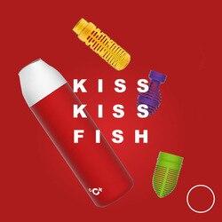 원래 샤오 mijia 키스 키스 물고기 스마트 진공 절연 병 3 필터 OLED 온도 화면 스마트 센서 CC + 컵