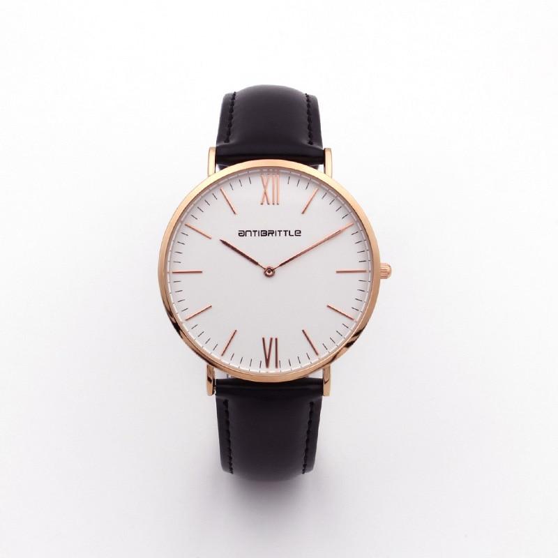 Люкс Brand Quartz Women Mesh Watches Men Жіңішке - Әйелдер сағаттары - фото 4