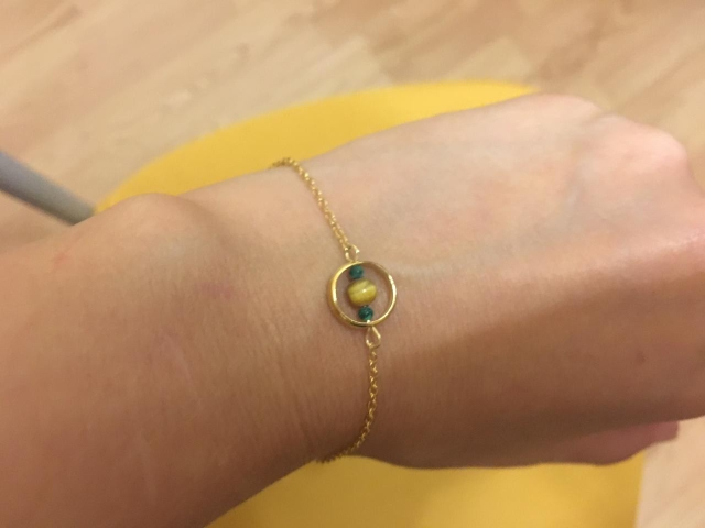 Jewelry & Accessories Solar Plexus Chakra Stonenatural Tigers Eye Charm Bracelets 925 Silver Chrysocolla Calming Yoga Fine Jewelry Women #c044b