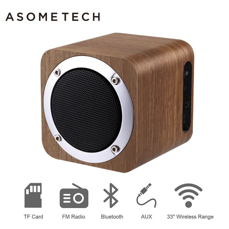 Wooden Wireless Speaker Bluetooth Soundbar For Xiaomi Xiomi iPhone AUX Portable Mini Bamboo Wood 4.0 Speakers TF Card FM RadioWooden Wireless Speaker Bluetooth Soundbar For Xiaomi Xiomi iPhone AUX Portable Mini Bamboo Wood 4.0 Speakers TF Card FM Radio