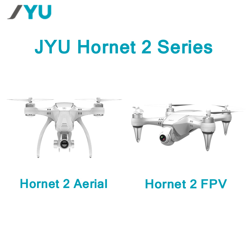 JYU Hornet 2 Racing 5.8G FPV / 4K / 1080P HD Camera / Standard Version 3-Axis Gimbal RC Quadcopter Left Hand RTF VS Hubsan H109S up air upair chase 5 8g fpv 4k 12mp hd camera 2 axis gimbal quadcopter