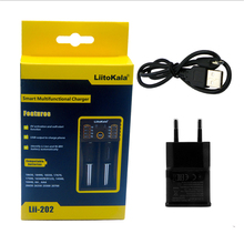 LiitoKala Lii 202 USB Intelligent Battery Charger with Power Bank Function for Ni MH Lithium for