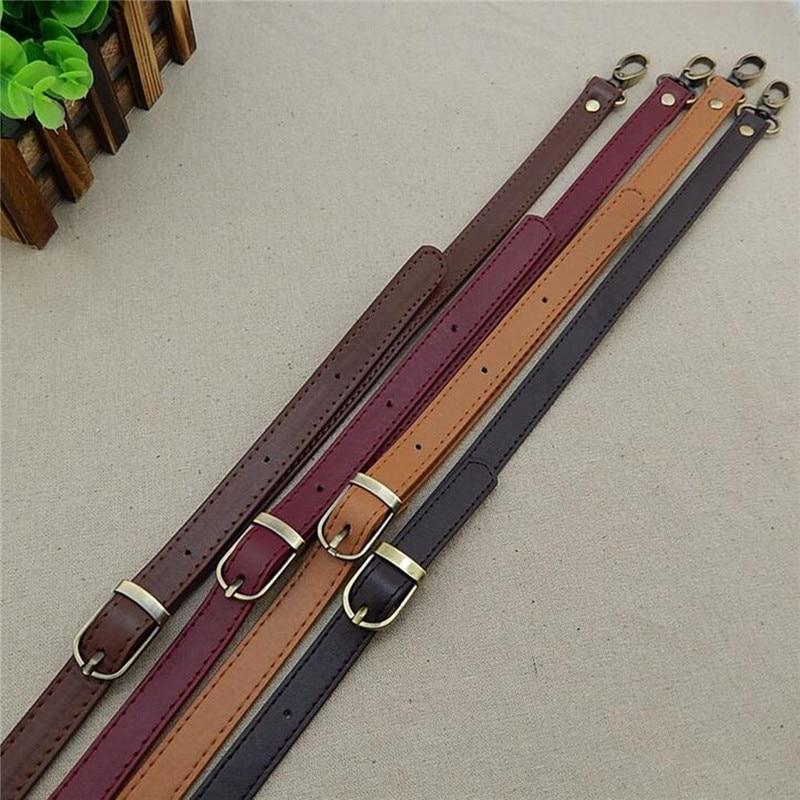 Osmond 120cm Adjustable Shoulder Belts PU Leather Bag Strap DIY Handbag Bag Crossbody Replacement Strap Detachable Bag Staps 1pc