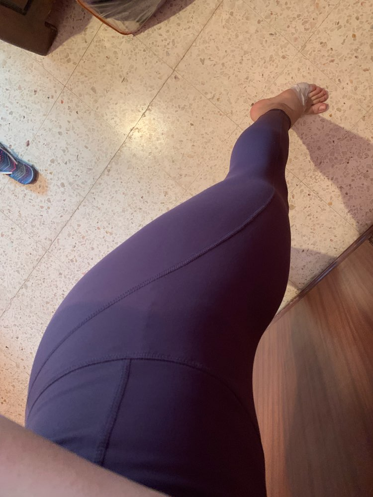 6 Colors High Waist Women Leggings Solid Patchwork Casual Pants Push Up Jeggings Sexy Ladies Slim Fitness Leggings photo review
