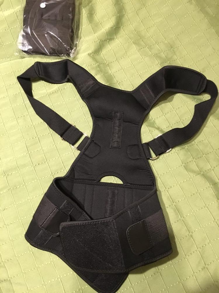 Aptoco Magnetic Therapy Posture Corrector Brace Shoulder Back Support Belt for Men Women Braces & Supports Belt Shoulder Posture