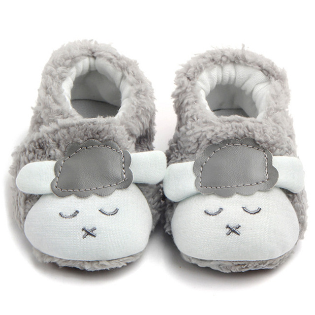 Soft Comfortable Plush Warm Baby Shoes Winter Autumn Infant First