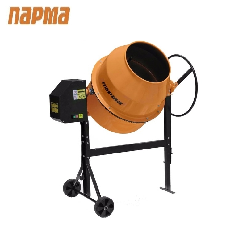 Concrete mixer Parma B-180-E Drum mixer Tilting mixer Transit mixer  Knead concrete concrete mixer parma b 220 e