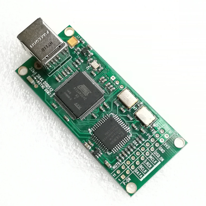 WEILIANG AUDIO Combo384 USB zu I2S digital interface beziehen zu Amanero 384 kHz/<font><b>32bit</b></font> DSD512 image
