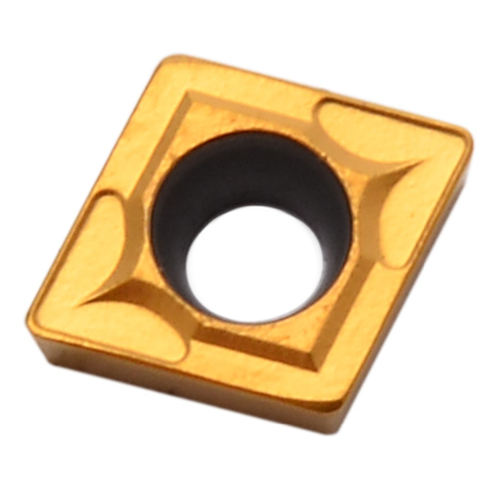 10pcs CCMT060204-HM YBC251 Lathe Carbide Insert Blade for CNC Lathe Turning Tool