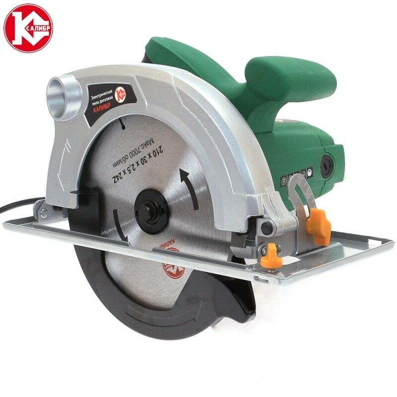 Electric circular saw Kalibr EPD-1800/210 kalibr epd 1700 185 electric circular saw for wood with a blade tool circle saw