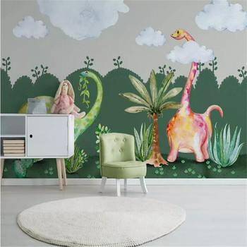 Hand-painted children's room background wall professional production murals, wallpaper wholesale, custom poster photo wall hand painted color oil painting background wall professional production mural factory wholesale wallpaper poster photo wall