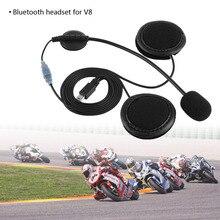 Bluetooth Cuffia Microfono Per Il V8 Casco Del Motociclo Citofono Auto-Styling Accessori