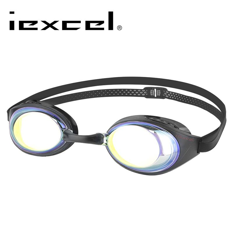 LANE4 iexcel Myopia Swimming Goggles Anti fog UV Protection Waterproof swimming glasses for Men Women 94690