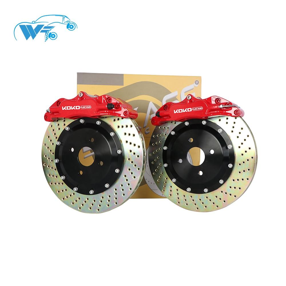 China factory car brake system WT5200 Big brake kit for bmw E30 17 rim wheel