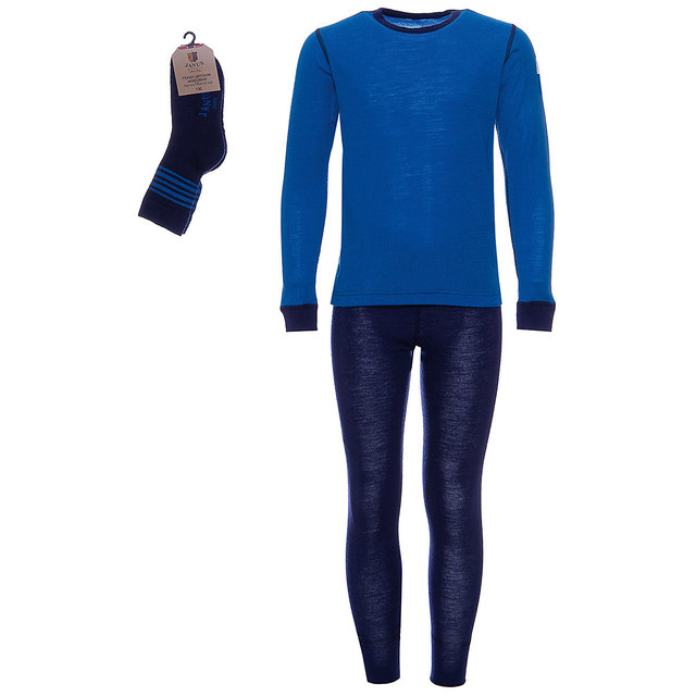 Комплект: лонгслив и брюки Janus для девочек и мальчиков