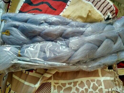 "TOMO 24"" Ombre Kanekalon Braiding Hair Synthetic Crochet Braid Hair Extensions 100g Jumbo Braids Boxing Hair Dreadlocks Bulk"