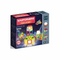 Blöcke MAGFORMERS 6881963 Konstruktor Minecraft Spielzeug Magnetische Designer Ninjago Figuren