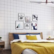 Европа зд обои белая сетка стены Бумага элегантная, для гостиной Декор обои для спальни украшения папье Peint QZ061