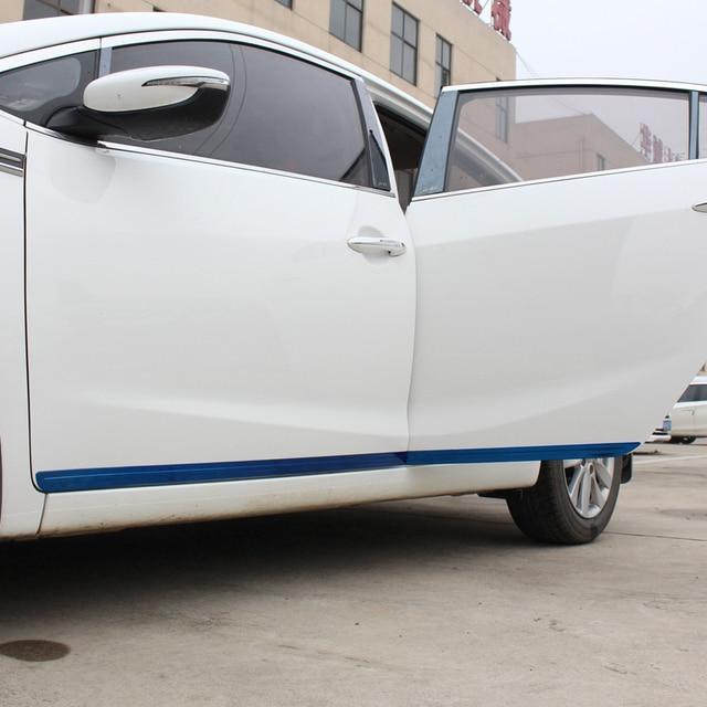 Door Body exterior Excent auto decorative chromium accessory accessories decoration trim car styling covers parts FOR Kia K3