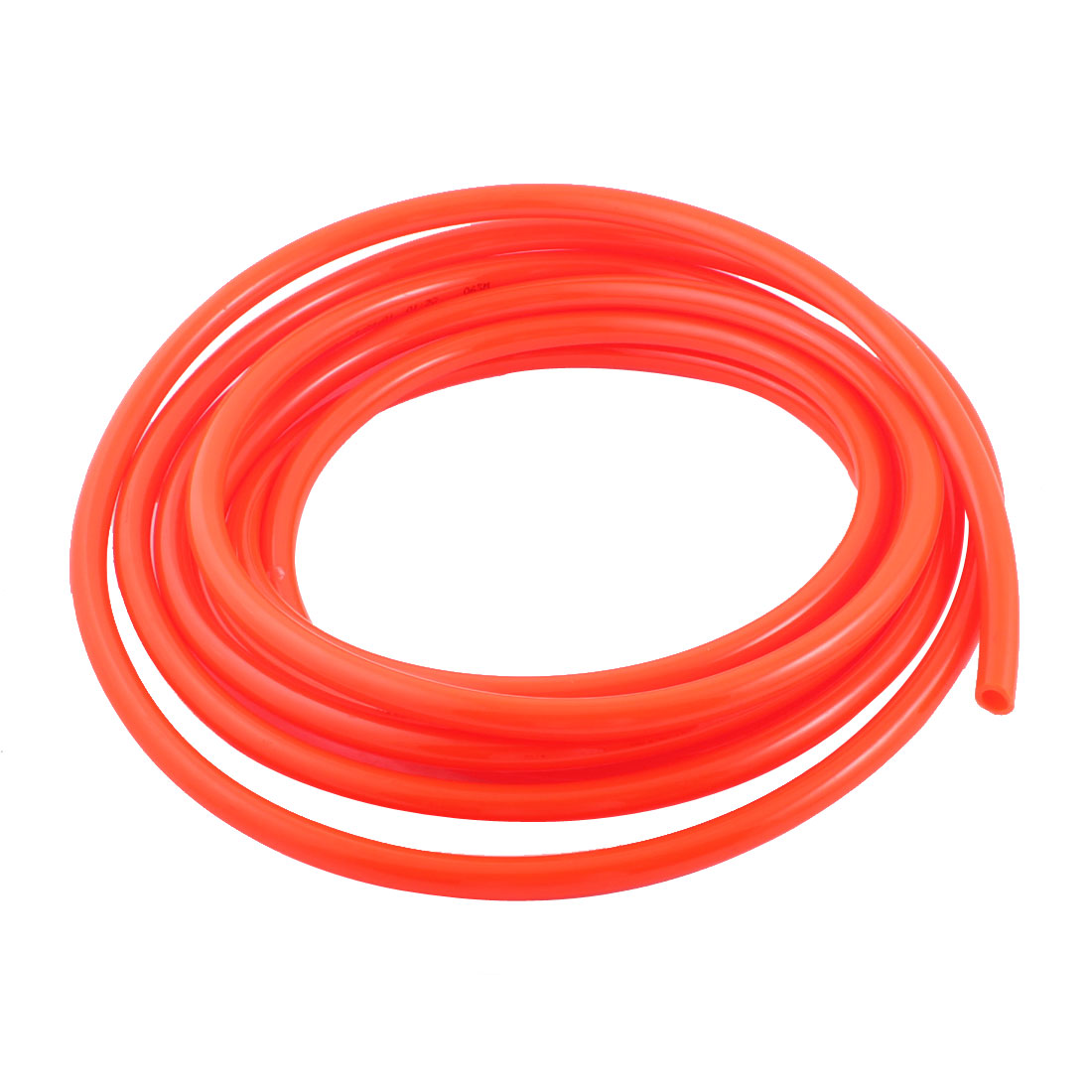 UXCELL 12Mm Od 8Mm Inner Dia Air Compressor Pu Tube Hose 5.8M 19Ft For Pneumatics uxcell 16ft 8mm inner dia clear plastic pvc hose pipe tube for tank air pump aquarium
