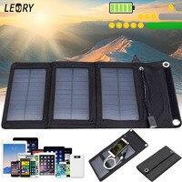 5W 5V Solar Panel Charger Monocrystalline Portable Solar Cell For Cellphone Power Bank Outdoor DIY USB