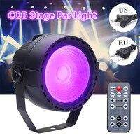 Smuxi 15W Stage Light COB RGB LED Par Light Remote DMX Control Disco Bar US EU