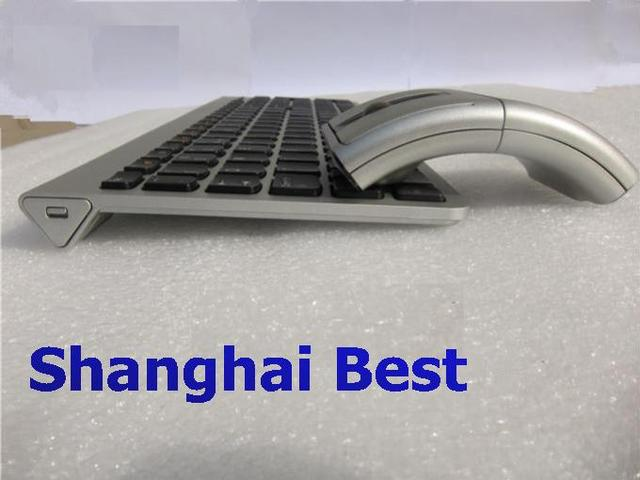 37a3a8c064c Genuine Lenovo 2.4Ghz Wireless Combo SK8861 Silver Russian Spanish German  US UK Japanese Keyboard +
