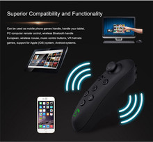 VR Remote Control Wireless Bluetooth Gamepad Virtual Reality Glasses Remote Controller Console Virtual Joystick for Phone IOS