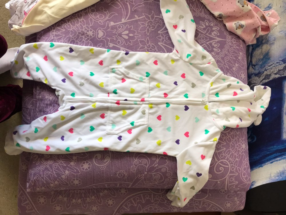 Baby's Hooded Fleece Jumpsuit photo review