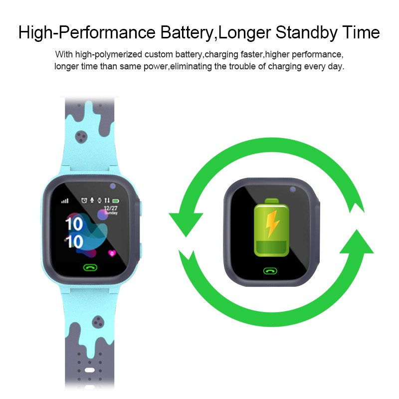 Image 5 - kids call Kids Smart Watch for children SOS Antil lost Waterproof Smartwatch Baby 2G SIM Card Clock Location Tracker watches-in Smart Watches from Consumer Electronics