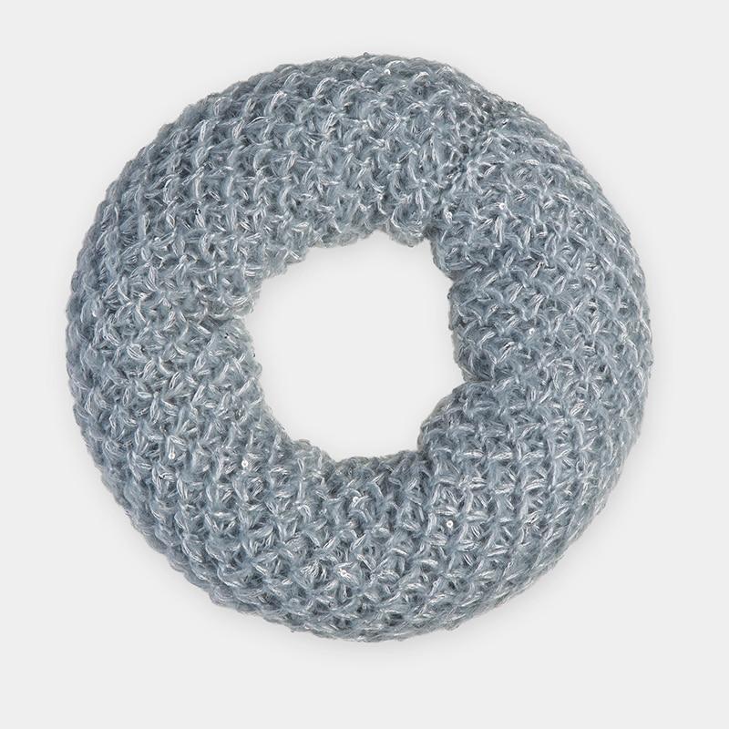 Scarf for women Canoe 3449193 BRIOSH chic vivid big leaves pattern chiffon scarf for women