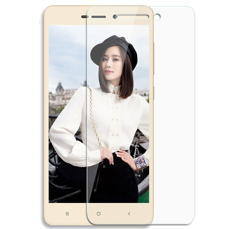 For Xiaomi redmi 3 3S 4 X Pro A1 Mi6x black shark Tempered Glass Screen Protector Film 9H Safety Protective Film on Redmi 5 plus